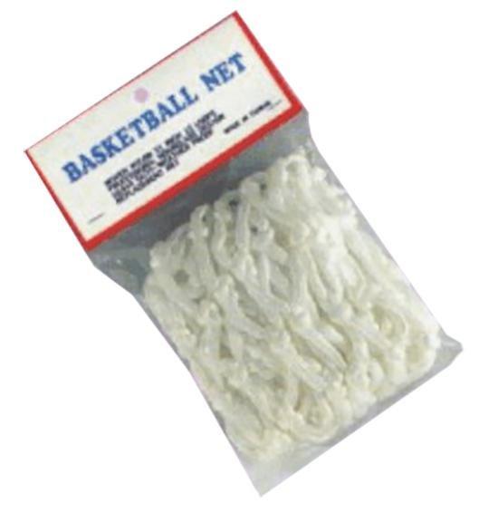 Basketbalová síťka - Ostatní Síťka basketbalová 4012P bílá -1pár