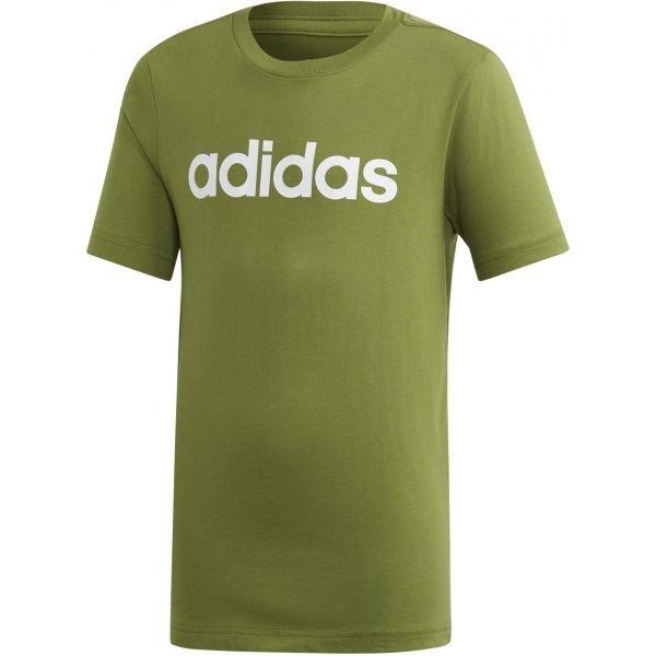 Zelené chlapecké tričko s krátkým rukávem Adidas