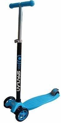 Modrá koloběžka Spartan - nosnost 60 kg