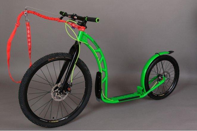 Koloběžka - Koloběžka Morxes Cane D zelená