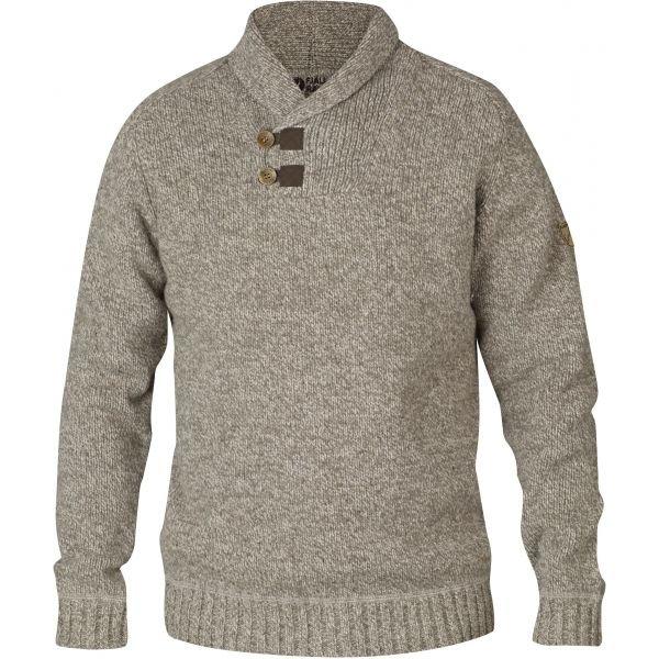 Béžový pánský svetr Fjällräven - velikost XL