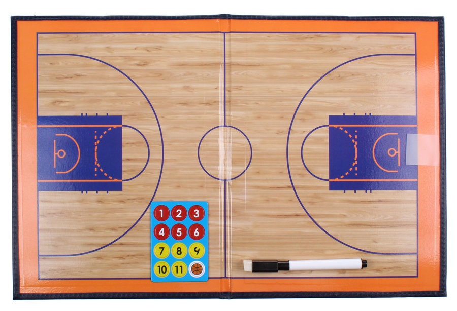 Basketbalová trenérská tabule - Merco Basketbal 41