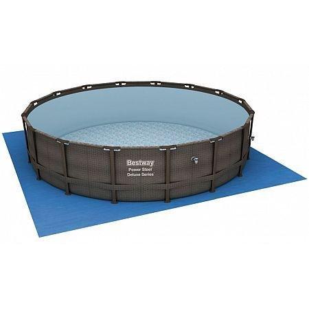 Plachta na bazén - BESTWAY 58251 podložka plachta 5,2 x 5,2 m pod bazén 4,88 m