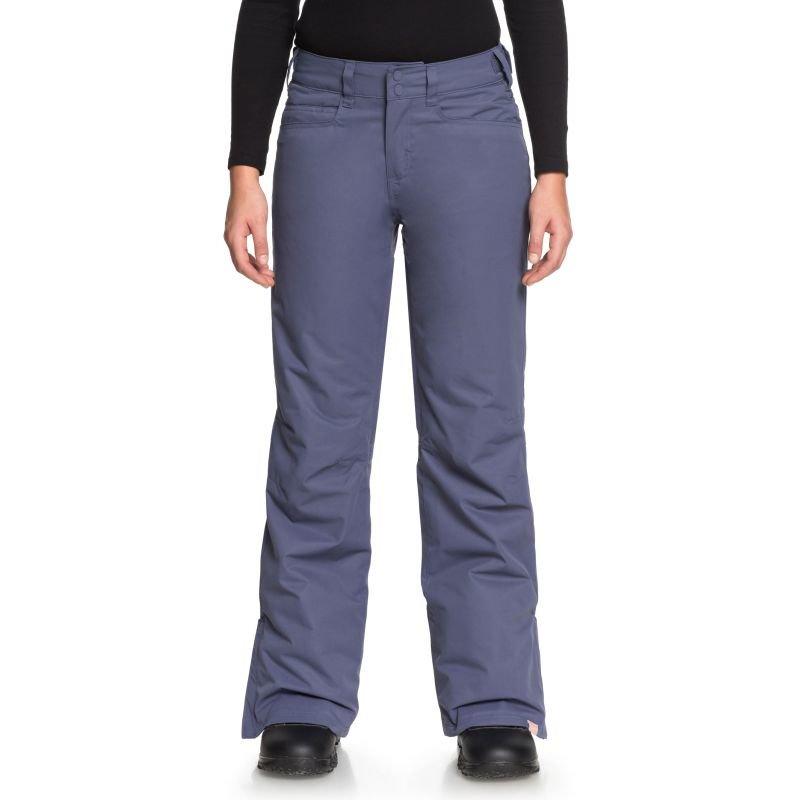 Modré dámské snowboardové kalhoty Roxy