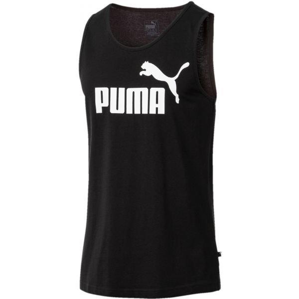Černé pánské tílko Puma - velikost L