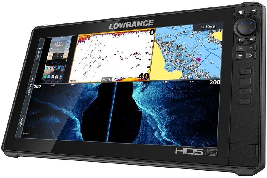 Echolot - Lowrance Echolot HDS LIVE 16 se sondou Active Imaging 3v1 + baterie + nabíječka ZDARMA