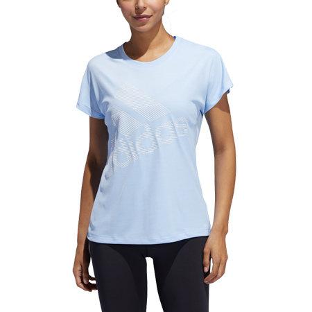 Modré dámské tričko s krátkým rukávem Adidas