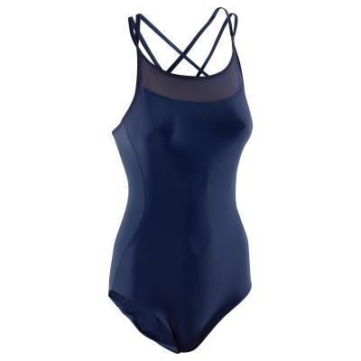 Modrý dámský baletní trikot Domyos - velikost 42