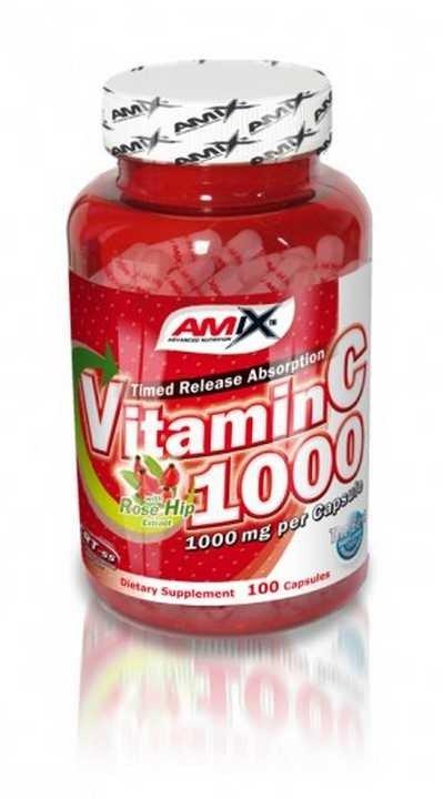 Vitamín C - Amix Vitamin C 1000mg 100 kapslí