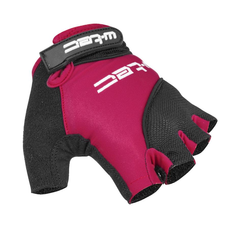 Černo-fialové dámské cyklistické rukavice Sanmala Lady AMC-1023-22, W-TEC - velikost S