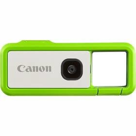 Bílo-zelená outdoorová kamera IVY REC Avocado, Canon