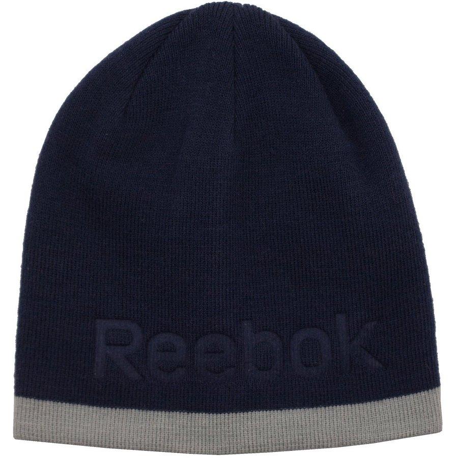 Černá zimní čepice Reebok - univerzální velikost