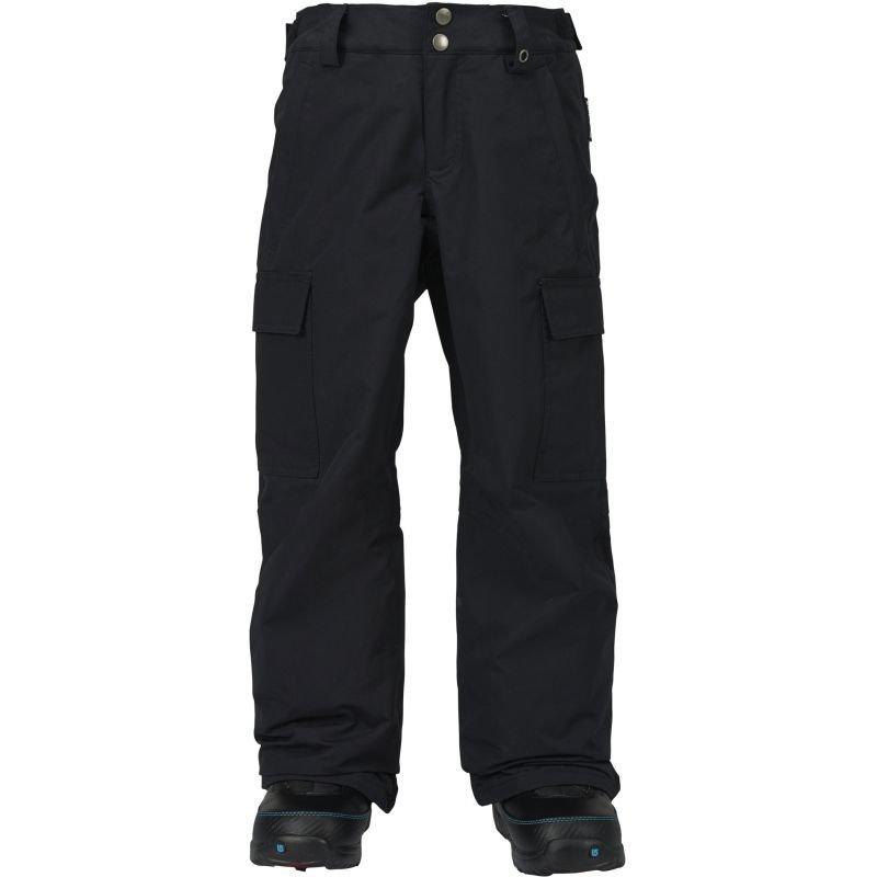 Černé dětské snowboardové kalhoty Burton