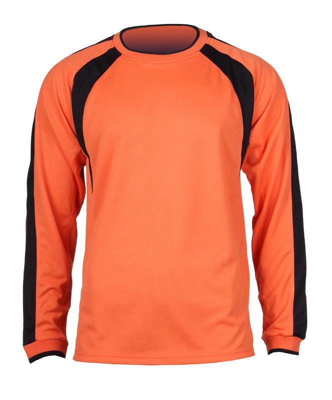 Oranžový fotbalový dres Chelsea, Merco - velikost XL