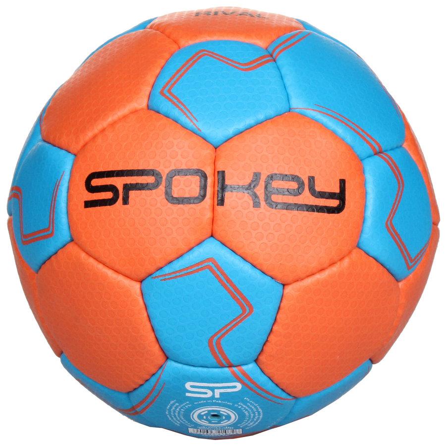 Modro-oranžový míč na házenou Rival, Spokey - velikost 2