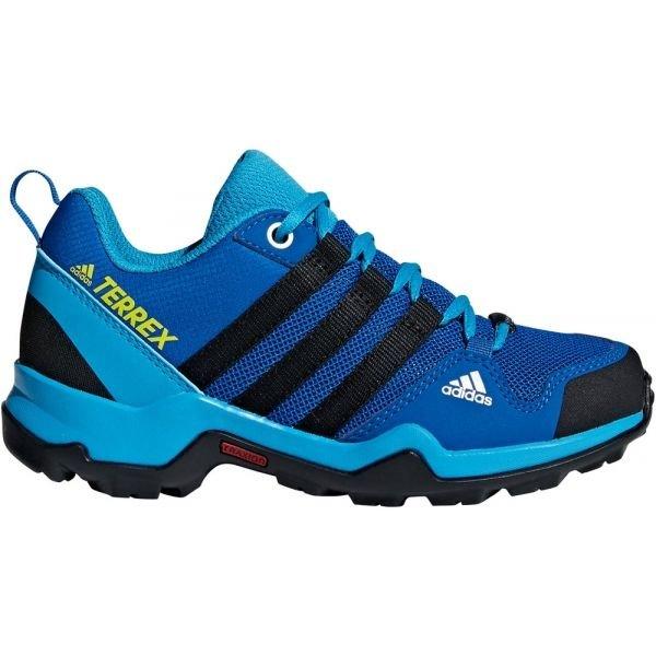 Modré chlapecké trekové boty Adidas