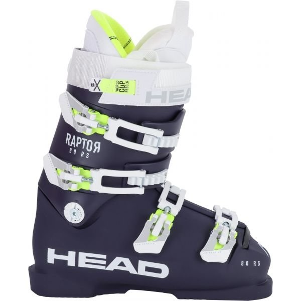 Bílo-černé dámské lyžařské boty Head