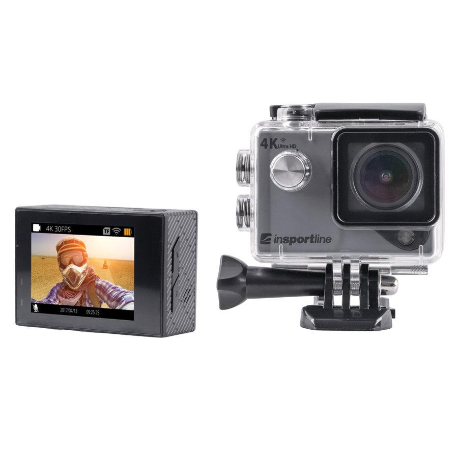 Šedá outdoorová kamera ActionCam III, inSPORTline