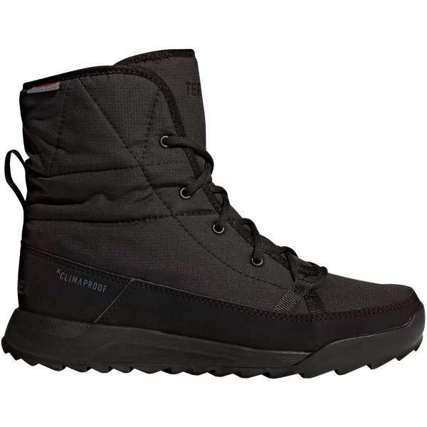 Černé dámské zimní boty Adidas