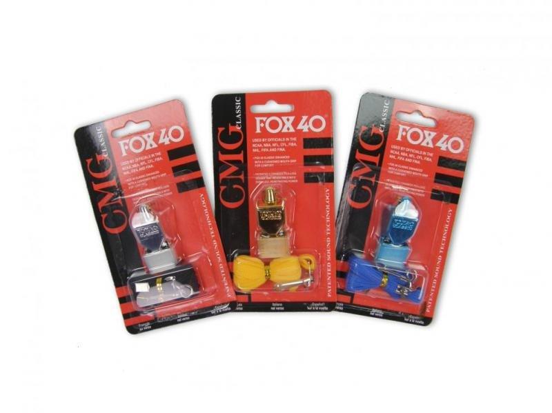 Píšťalka pro rozhodčího - Píšťalka FOX 40 SONIC CLASSIC - Stříbrná