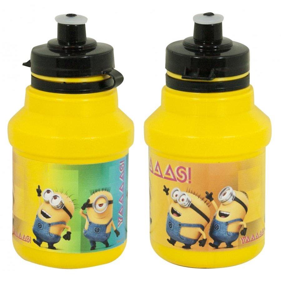 """Žlutá láhev na pití Bidon, """"Mimoni"""" - objem 0,35 l"""