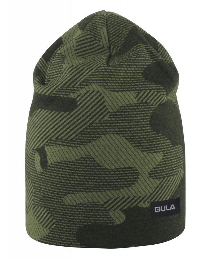 Zelená dámská zimní čepice Bula