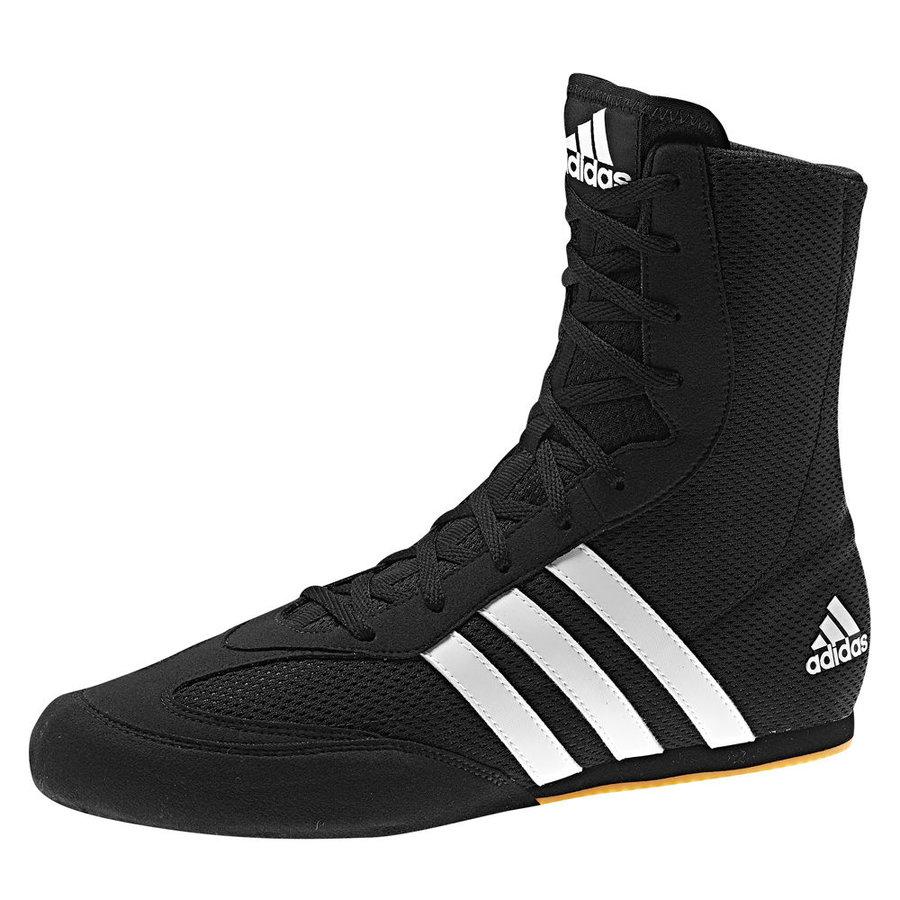 Černé boxerské boty Box Hog 2, Adidas - velikost 47,5 EU