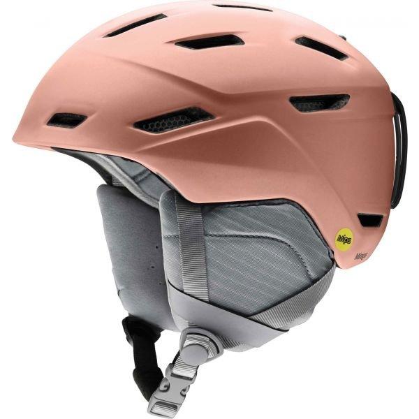 Růžová dámská lyžařská helma Smith