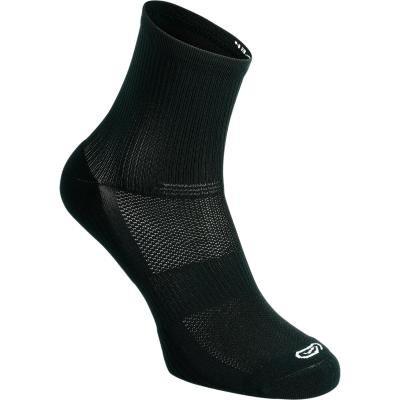 Černé běžecké ponožky CONFORT, Kalenji - velikost 39-42 EU