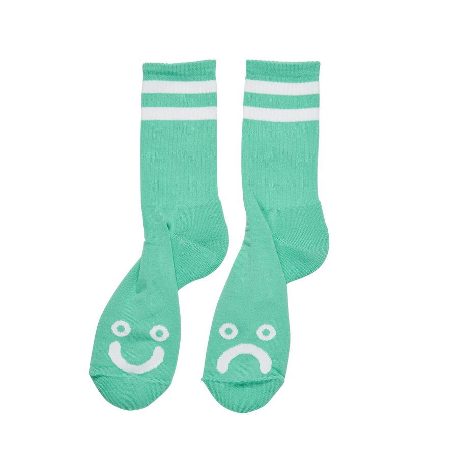 Zelené vysoké ponožky Polar Skate Co. - velikost 43-46 EU