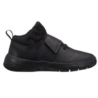 Černé dětské basketbalové boty Team Hustle D 8, Nike - velikost 37 EU