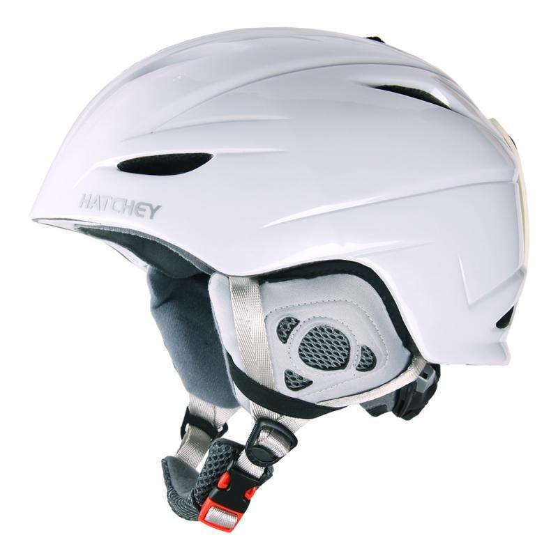 Bílá lyžařská helma Hatchey - velikost 54-60 cm