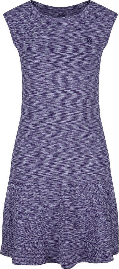 Fialové dámské šaty Loap - velikost L