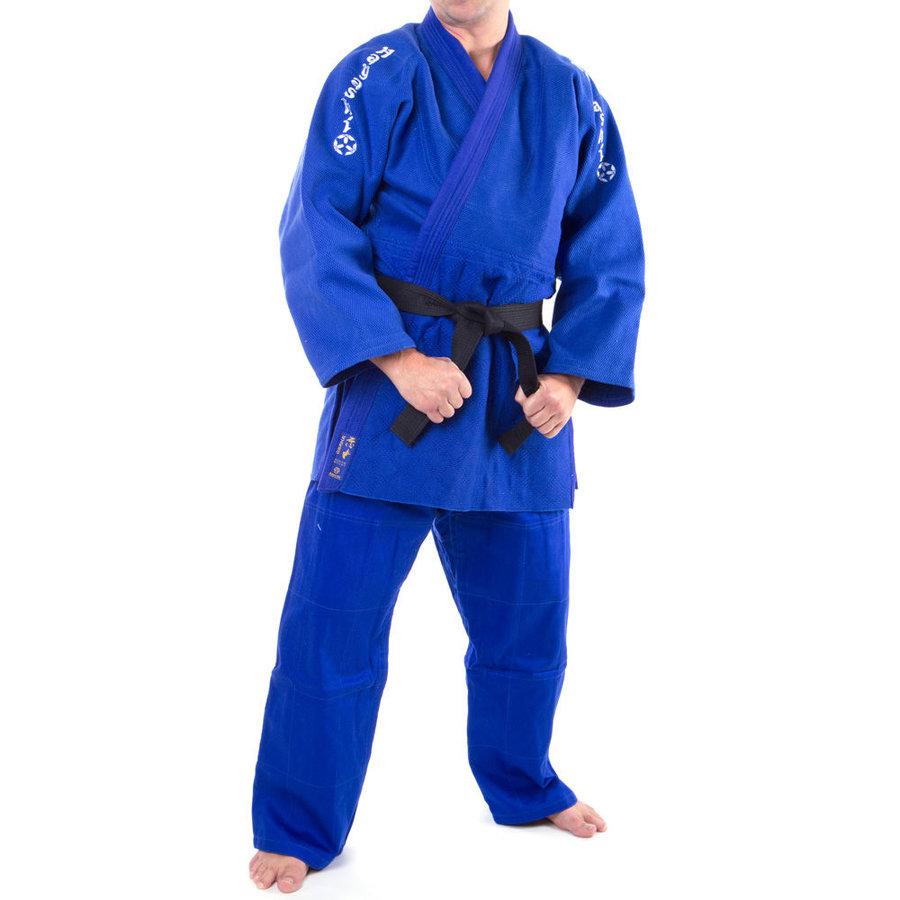 Modré kimono na judo Hayashi