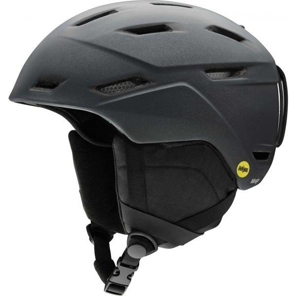 Černá dámská lyžařská helma Smith - velikost 55-59 cm