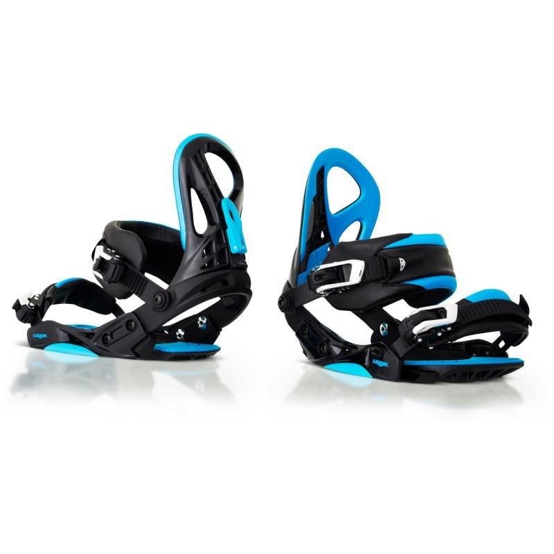 Modré vázání na snowboard NOW - velikost 37-41 EU