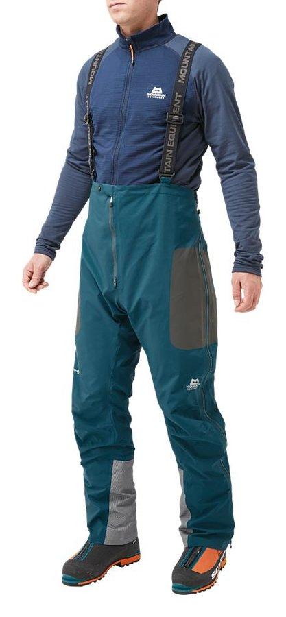 Modré pánské turistické kalhoty Mountain Equipment