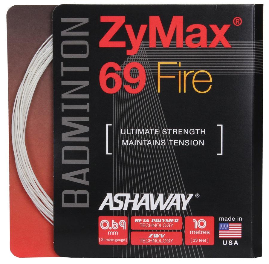Badmintonový výplet ZyMax 69 Fire, Ashaway - průměr 0,69 mm