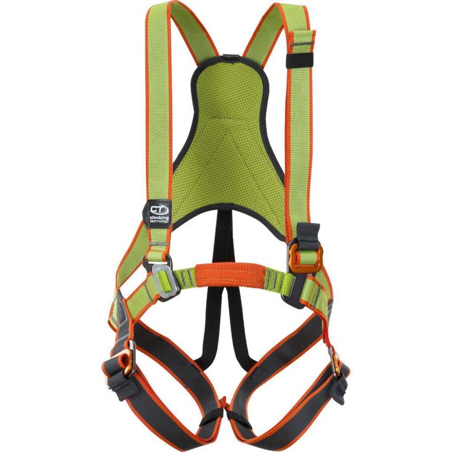 Zelený dětský horolezecký úvazek JUNGLE, Climbing Technology