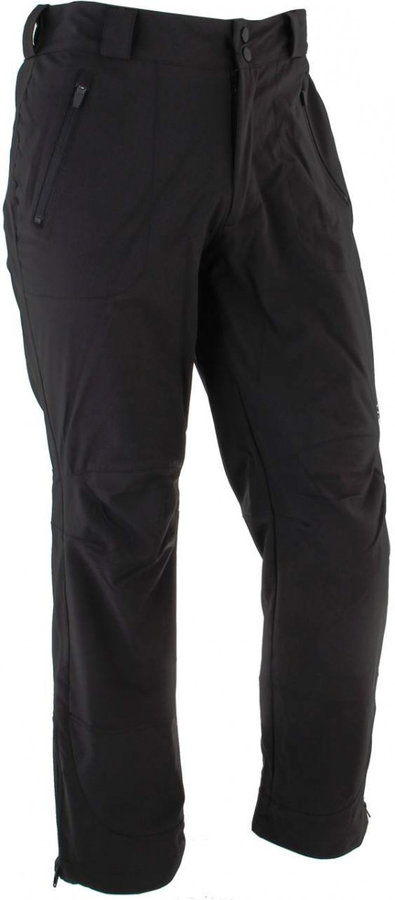 Černé pánské lyžařské kalhoty Axon