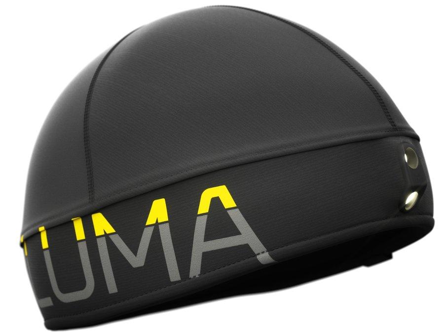 Černá běžecká čepice Active Led Light, LUMA - univerzální velikost