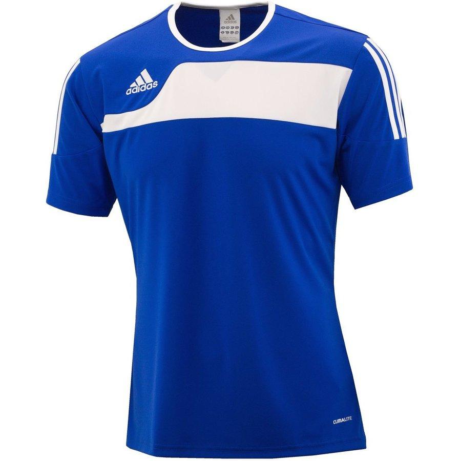 Modrý fotbalový dres Autheno, Adidas - velikost S