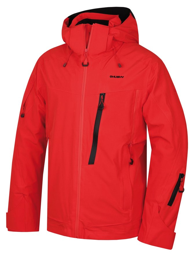 Červená pánská lyžařská bunda Husky