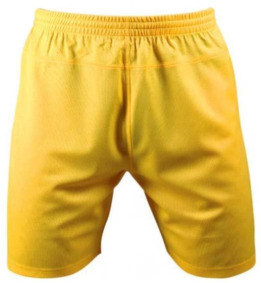 Žluté dětské fotbalové kraťasy Brasilia, Merco
