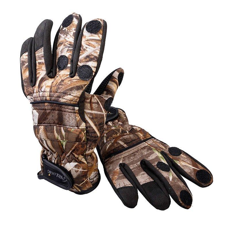 Černo-hnědé neoprenové rukavice MAX5, ProLogic