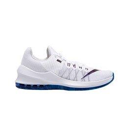 Bílo-modré pánské basketbalové boty Air Max, Nike