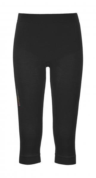 Černé 3/4 dámské termo kalhoty Ortovox