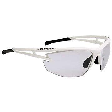 Bílo-černé cyklistické brýle Alpina