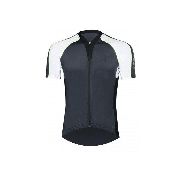Cyklistické tričko - Pánské cyklistické triko Newline Bike Vent Jersey černá - M
