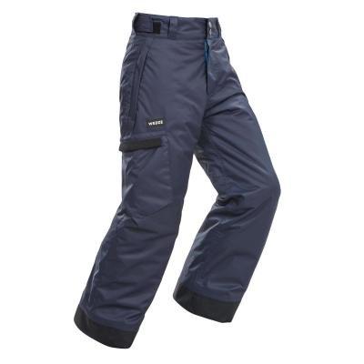 Šedé chlapecké snowboardové kalhoty Wed'ze